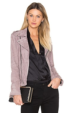 Nico Moto Jacket in Pink Stone