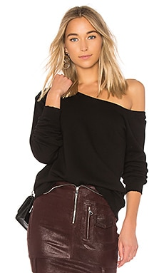 Claudine One Shoulder Sweatshirt