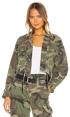 Carlita Cropped Military Jacket RtA $218