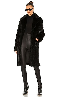 Dawson Faux Fur Coat RtA $495 NEW