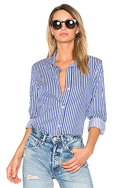 Gia Button Up in Sailor
