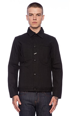 Rogue Territory Supply Jacket 15oz Stealth in Black