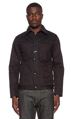 Rogue Territory Dark Supply Jacket in Dark Indigo