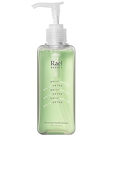 Daily Detox Oil to Foam Gentle Cleanser Rael $28