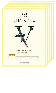 Vitamin C Mask 5 Pack Set Rael $16 BEST SELLER