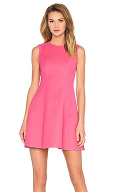 Red Valentino Fit and Flare Dress in Fuchsia