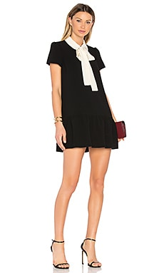Tie Neck Shift Dress
