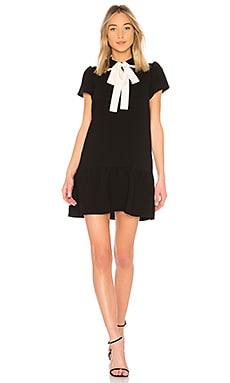 Купить Мини платье tie neck - Red Valentino черного цвета