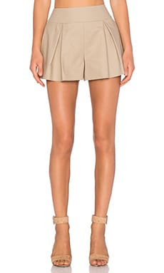 Red Valentino Tailored Short in Sand