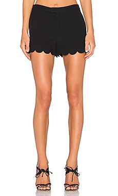 Scallop Silk Short