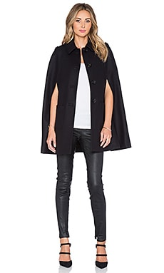 Red Valentino Cape in Nero