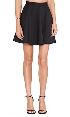Red Valentino Circle Skirt in Black