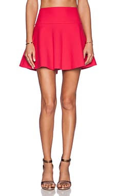 Red Valentino Fit and Flare Skirt in Ribes