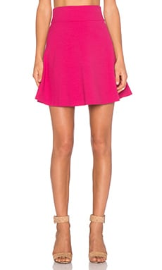 Red Valentino Fit & Flare Skirt in Fuchsia