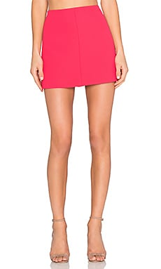 Red Valentino Mini Skirt in Azalea