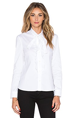 Red Valentino Bow Top in Bianco