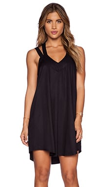 RVCA Tunnel Vision Dress in Black