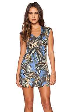 RVCA Owned Dress in Shark