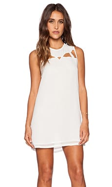 RVCA Blade Rain Dress in White