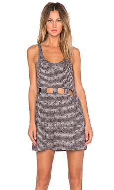 RVCA Simply Minded Dress in Grey Ice