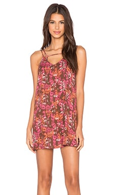 RVCA Thrilled Dress in Rosewater