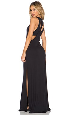 RVCA Nite Moves Maxi Dress in Black