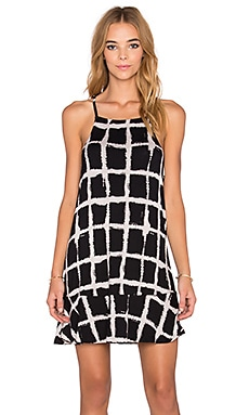 RVCA Two Blocks Up Dress in Black