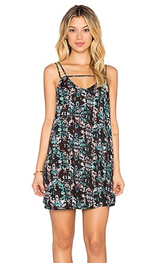 RVCA Thrilled Dress in Stucco