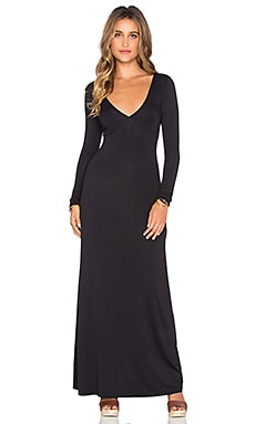 RVCA Leelou Maxi Dress in Black