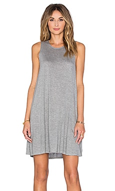 RVCA Sucker Punch 2 Tank Dress in Heather Grey