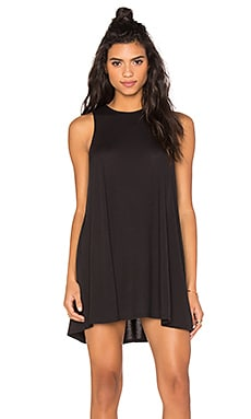 Sucker Punch 2 Tank Dress in Black