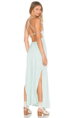 RVCA Kambria Dress in Cool Mint