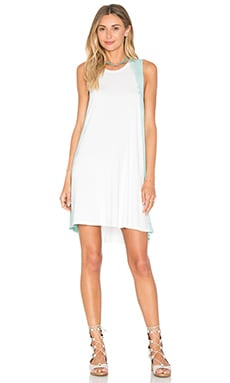 RVCA Sucker Punched Dress in Cool Mint