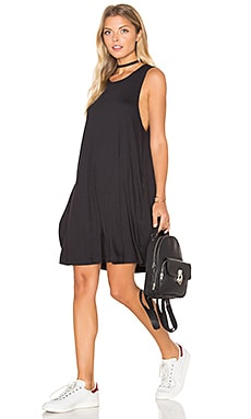 RVCA Sucker Punch 2 Dress in Black