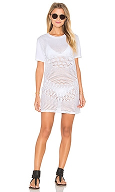 RVCA Scopic Dress in Vintage White