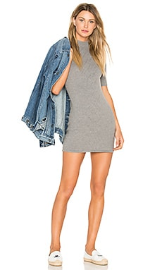 Ziggy Dress in Grau meliert