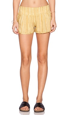 RVCA Chill Session Shorts in Sulfur