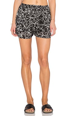 RVCA Serious Daze Short in Black