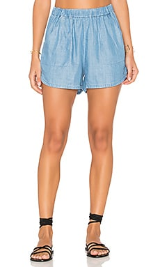Sure Shot Short en Chambray