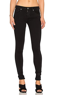 RVCA Dayley Skinny in Faded Black