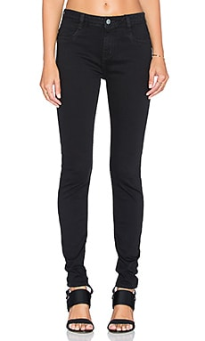 RVCA HI Roader Skinny Jean in Black