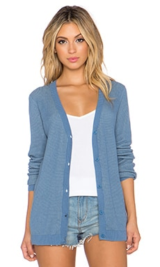 RVCA Feel For It Cardigan in North Atlantic
