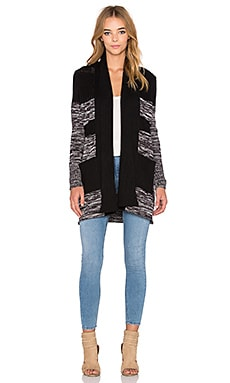 RVCA All Or Nothing Cardigan in Black