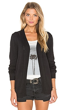 RVCA Sayso Cardigan in Black