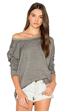 Label Dolman Pullover in Pirate Black