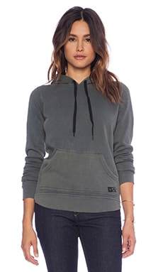 RVCA Captivate Hoodie in Dark Slate