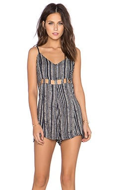 RVCA Easy Peasy Romper in Black