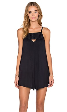 RVCA Caliber Romper in Black