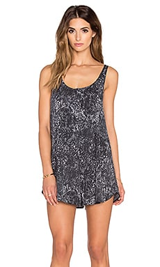 RVCA Nite Glow Romper in Black