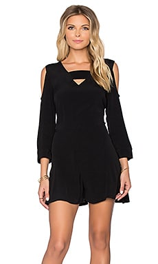 RVCA Naomi Romper in Black